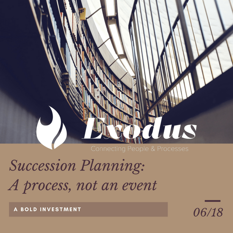Succession Planning_A process, not an event